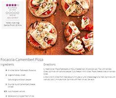 BH&G`s  Focaccia-Camembert Pizza http://www.bhg.com/recipe/pizza/focaccia-camembert-pizza/?utm_source=bhg-newsletter&utm_medium=email&utm_campaign=bhgdailyrecipe_100316&did=82444
