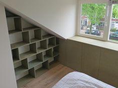 Study Inspiration, Attic, Kids Bedroom, Decoration, Sweet Home, Shelves, House Design, Interior, Home Decor