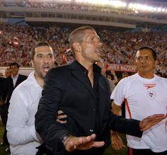 Manager Diego Simeone (Estudiantes de La Plata, 2006-2007)
