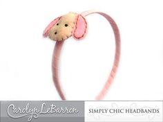 cute puppy headband