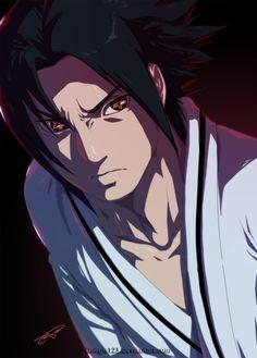 Sasuke's Eternal Mangekyou by Artipelago.deviantart.com on @deviantART