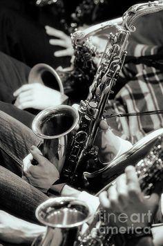 Jazz Saxophones by Konstantin Sevostyanov
