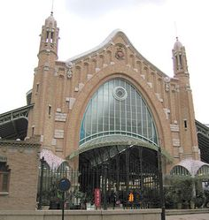 """Mercado de Colombo"".  # Valência, Espanha."