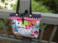 Pots and Pins: Tote Bag Tutorial....