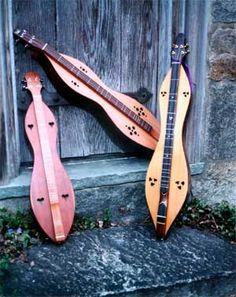 Music Improvisation for Mountain Dulcimer by Thomasina Levy