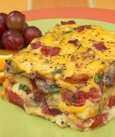 Our Bacon, Tomato and Cheese Strata breakfast casserole recipe is a family favorite. Enjoy!