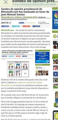 ¿Por Qué @BluRadioCo no informa que #Santos le hace trampa a las encuestas en internet?  http://ln.is/www.minuto30.com/ult/B1ntg… pic.twitter.com/z7YFMsm8Gh