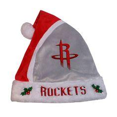 Adult Houston Rockets Santa Hat, Adult Unisex, Red