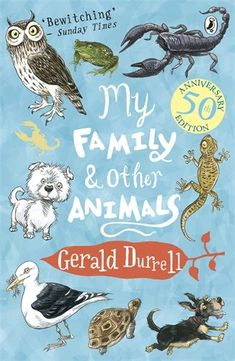 Staff book Recommendation of the day - My Family and Other Animals