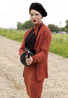 "Holliday Grainger as Bonnie Parker in ""Bonnie & Clyde"""