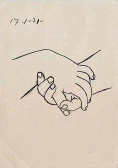 Picasso: darse las manos