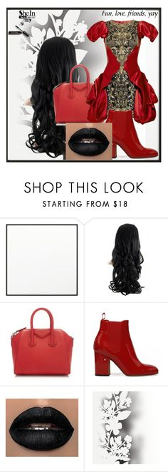 """""""Alexander McQueen"""" by aida-kadric ❤ liked on Polyvore featuring By Lassen, Givenchy, Élitis and Bobbi Brown Cosmetics"""