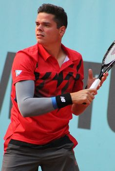 Athletes. // Milos Raonic.