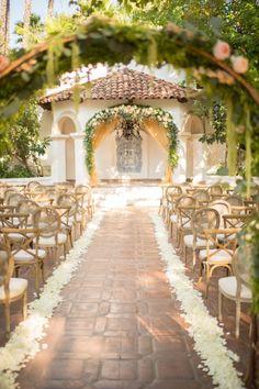 Fairytale venue: http://www.stylemepretty.com/california-weddings/silverado/2015/04/24/romantic-rancho-las-lomas-summer-wedding/ | Photography: Studio EMP - http://studioemp.com/