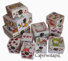 Cajas pintadas una a una a mano... www.caperucitazul.com https://www.facebook.com/Caperucitazul http://www.margaritarosaespinosa.blogspot.com.es/