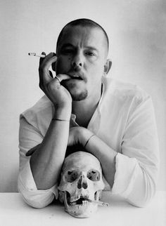 "british-vogue: ""Lee 'Alexander' McQueen photographed by Tim Walker for the October 2009 issue. Alexander McQueen: Savage Beauty London run extended "" Tim Walker, Guy Bourdin, Richard Avedon, Ellen Von Unwerth, Somerset, Romaine Brooks, Alexandre Mcqueen, Mcqueen 3, Steve Mcqueen"