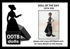 06.30.14 - Today, we are previewing doll OOTB 1030, and she is part of our exciting debut at the upcoming NBDCC Nashville! She is elegant, but yet daring because of her black-on-black design, which is rarely seen in the fashion world! Enjoy!  Please visit our website for more details on this beauty! www.OOTBdolls.com