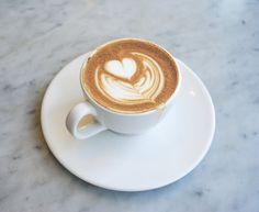 Cappuccino at Espresso Cielo, Santa Monica, CA
