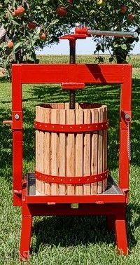 Some day I need my own cider press- to make cider from all the apples growing in my orchard, of course. orchard hous