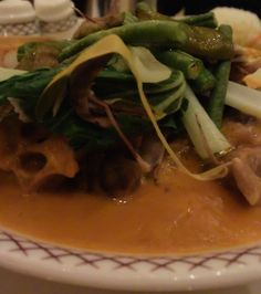 Kare Kare at The Peninsula Hotel in Manila with @DishOurTown