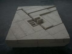 Vanessa Carneiro Kindt - Installation - Sculpture. Material: YTONG blocks