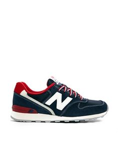 0156f7265441a New Balance Blue Retro 996 Sneakers New Balance Runners