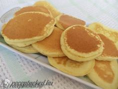 Érdekel a receptje? Griddle Cakes, Hungarian Recipes, Hungarian Food, Crepe Cake, Mille Crepe, Pancakes, Low Carb, Gluten, Breakfast