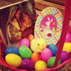 include Christ in easter basket