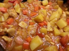 Summer Scholars 2014 Potluck: Kelly's Curried Chicken with Potatoes, Carrots, and Onions