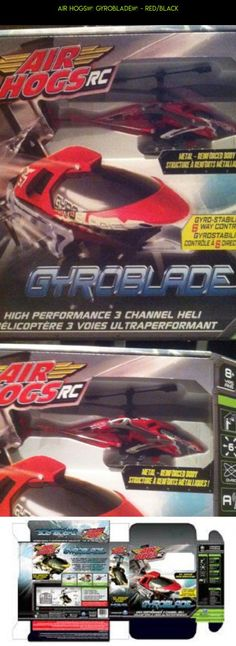 Air Hogs® Gyroblade™ - Red/Black #fpv #gyroblade #kit #racing #parts #drone #plans #products #shopping #camera #technology #hogs #gadgets #air #tech