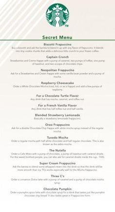 Starbucks Frappuccino, Starbucks Hacks, Café Starbucks, Starbucks Secret Menu Items, Healthy Starbucks Drinks, Starbucks Secret Menu Drinks, How To Order Starbucks, Restaurants, Logos