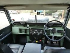 Image result for land rover defender series 2 interior