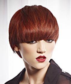 Roku Short Red Hairstyles