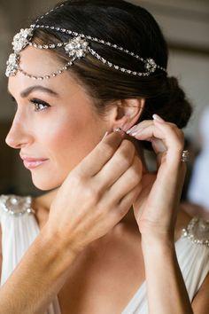 featured photographer: Samuel Lippke Studios; wedding hairstyle idea