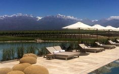 American Starts a Luxury Resort to Share the Argentina He Loves: The Vines Resort in Vista Flores, Mendoza. Mendoza, Argentina Culture, Visit Argentina, Political Consultant, Resort Spa, Outdoor Furniture, Outdoor Decor, Where To Go, Sun Lounger