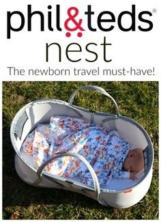 Check out the phil&teds nest Bassinet!
