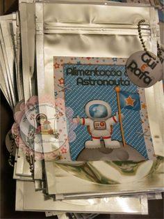 Festa Astronauta     Rótulos para garrafinhas, tubetes      Tubetes     Cones      Rótulos garrafinhas     Saquinhos surpresa      Saquinh...