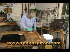 How to Strip Old Paint and Varnish - YouTube