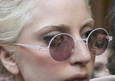 Lady Gaga | Bleached Eyebrows & Hair
