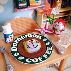 Doraemon Cafe special by @valkyriessa