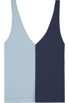 EXCLUSIVE AT NET-A-PORTER.COM. Staud's 'Aki' tank demonstrates the cult LA brand's fresh use of color. It's made from soft stretch-knit and ribbed to enhance the slim fit. Wear this piece casually with jeans or dress it up for evening tucked into a midi skirt.