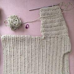 Suéter de niño a crochet