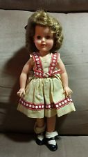 Vintage IDEAL Doll Shirley Temple 12 inch Vinyl in Original Dress & Shoes