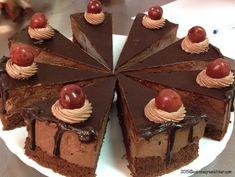 Tort De Ciocolata Cu Visine - Gabitza's Green Kitchen