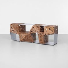 Riddled cabinet by Steven Holl