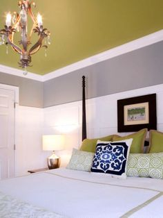 Navy Green and Gray is a very cool color combo!