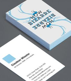"""HOW Clever: HOW Clever is full of brilliant ice-breakers featuring a unique design and a """"How?"""" networking question (for the slightly shy among you!) #moocards #luxebymoo #businesscards"""