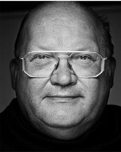 Jean-Luc Dehaene (1940-2014) - Belgian politician (CD&V) who served as Prime Minister of Belgium from 1992 until 1999. Photo by Stefan Vanfleteren