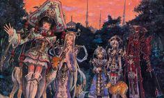 Trinity Blood/Ion Fortuna, Seth Nightroad, Astharoshe Asran, Baybars