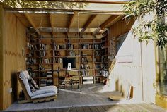 A Writing Shed in the Garden by Michelle Slatalla_Gardenista